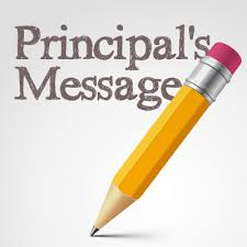 An important letter from Principal David Loniewski!