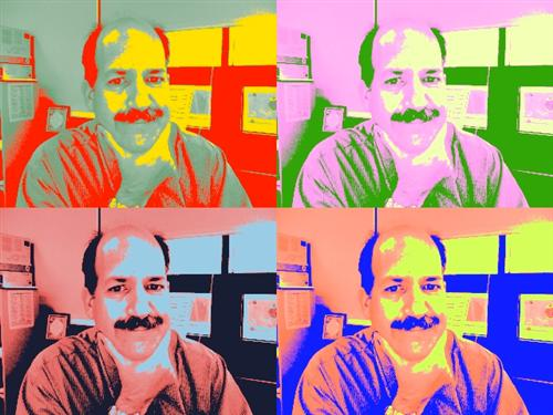 Pop art Pete