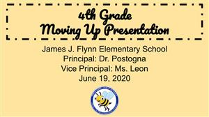 4th Grade Moving Up Presentation