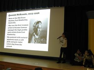 Women in History Month Assembly