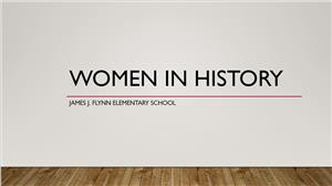 Women in History Presentation