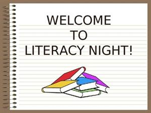 October Family Literacy Night