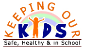 Keeping Our Kids Safe, Healthy, and In School Logo