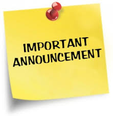 August 21, 2020- Important Announcement Regarding Student Scheduling!