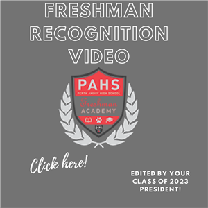 Freshman Recognition Video-By Class Council President