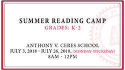 Summer Reading Camp