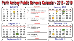 DOWNLOAD THE 2018-2019 DISTRICT CALENDAR