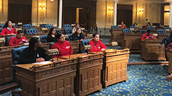 Students Visit NJ State House