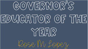 Governor's Educators of the Year