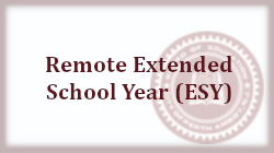 Remote Extended School Year (ESY)