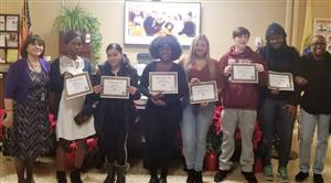 Adult High School Holiday Awards Assembly