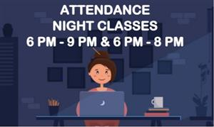 Basic Skills & Enrichment Evening Student Daily Attendance