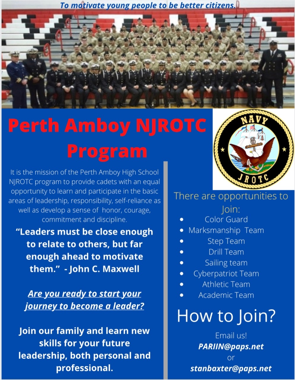 NJROTC Recruitment
