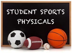 Spring Sports Physical Information!