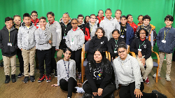 Shull School Students visit Communications Academy