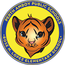 Rose M. Lopez Elementary School logo